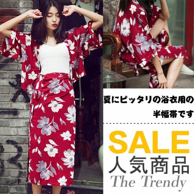 【トップス+スカート】甚平セット/2点セット/ラッ...