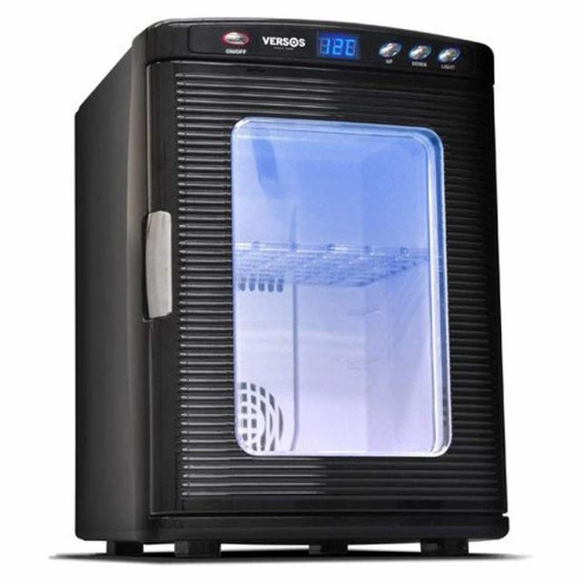 ベルソス VERSOS 冷温庫 ブラック VS-404