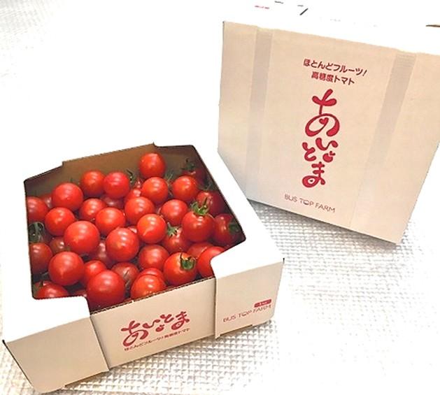 【送料無料】高糖度トマト「あいとま」(大・小混...