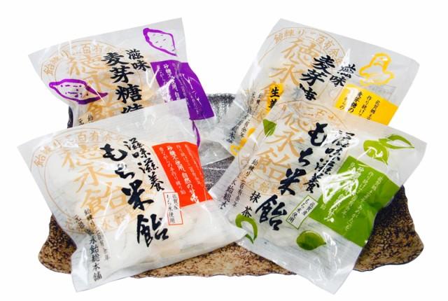【送料無料】徳永飴-食べやすい、1口サイズセット...