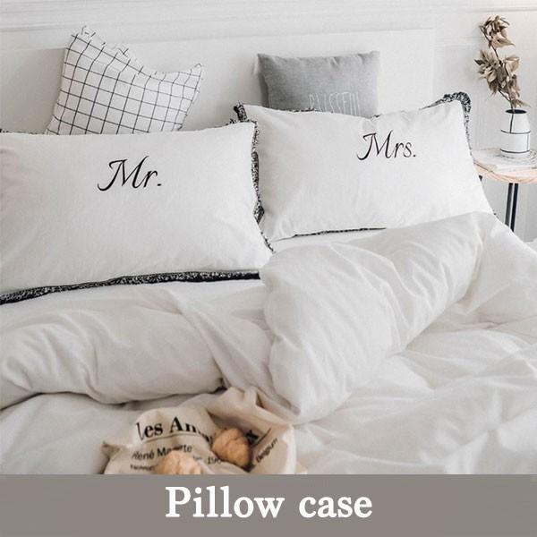 枕カバー 枕ケース まくらカバー ホワイト 寝室 ...