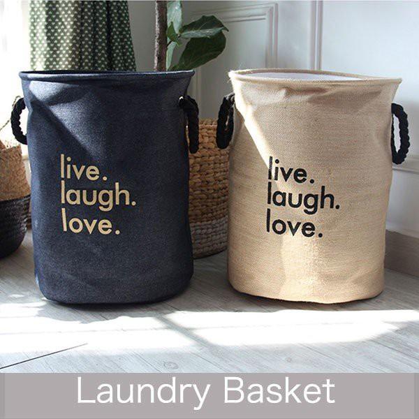 ランドリーバスケット ランドリーバッグ収納バスケットモノトーン/おもちゃ収納ボックス/防水ごみ箱 rbox-0016