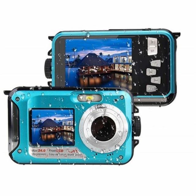 デジカメラ 防水カメラ 水中カメラ デジタルカメ...