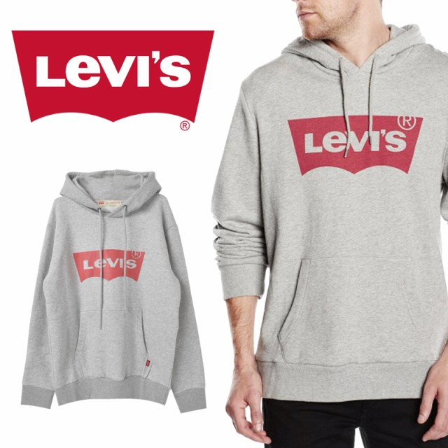 Levi's リーバイス ロゴプリントプルパーカー ト...