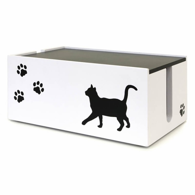 猫のケーブルボックス 小 CTB-151C