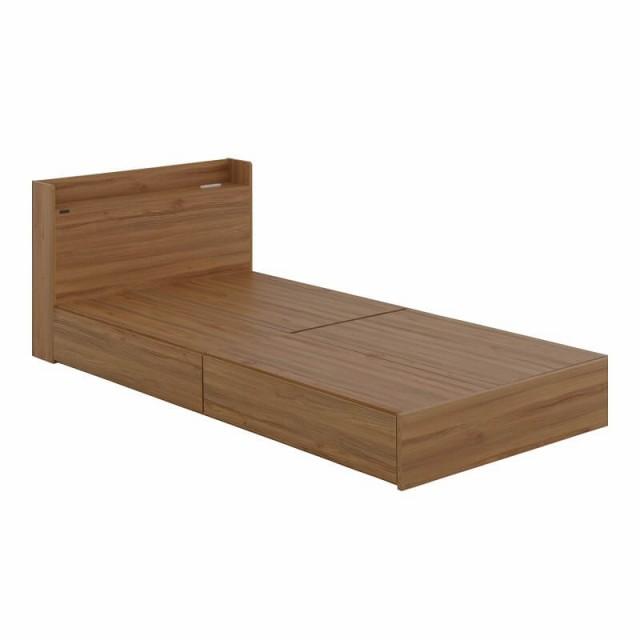 EMICA(エミカ) 収納付きベッド(収納2分割/ロ...