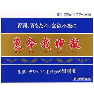 【第2類医薬品】 恵命堂 恵命我神散 徳用 100g×4...