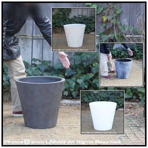 ソリッドφ43cm フォリオ軽量コンクリート製植木...