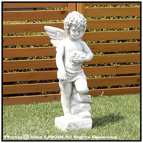 ケルビーノH44cm イタリア製 洋風庭園ガーデン石...