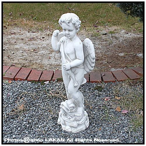 エンゼル キューピッドH72cm イタリア製洋風庭園 ...