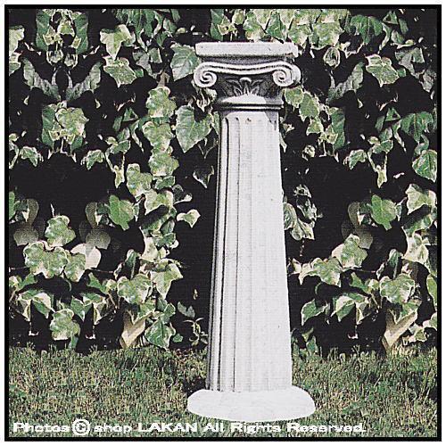 オリンピア台座H92cm イタリア製洋風庭園石造台座...