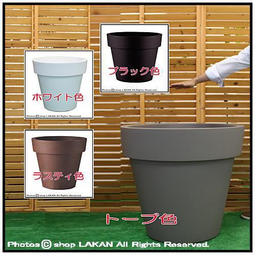 イコンφ80cm 高品質ポリエチレン樹脂製大型植木...