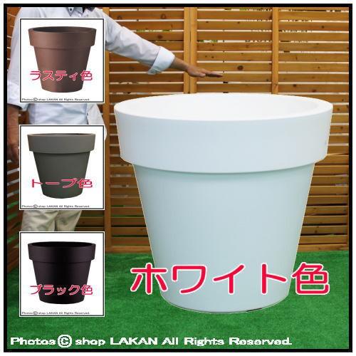 イコンφ120cm 高品質ポリエチレン樹脂製大型植木...