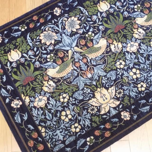 【送料無料】67x120cm ベルギー製シェニール織り...