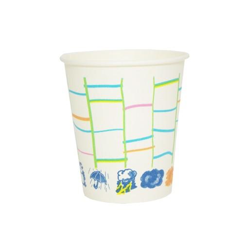 【送料無料】紙コップ7オンス(あみだ柄) 210ml 20...