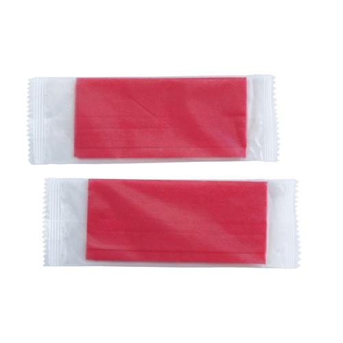 不織布おしぼり 平型 赤 180×220mm 2000枚