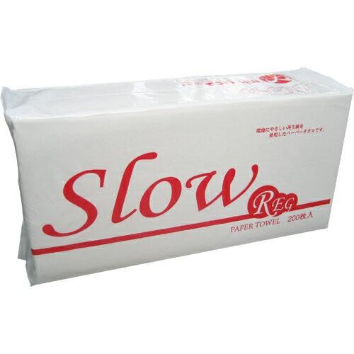 【激安】ペーパータオル Slow REG 30パック【送料...