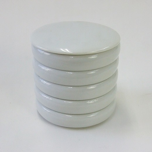 重皿(鉄鉢型)5枚 小 水墨画 絵手紙