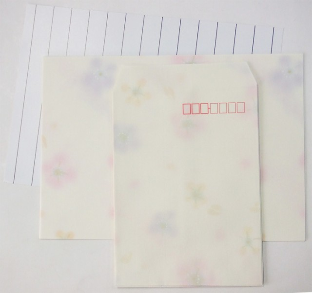 便箋・封筒セット 『花鈴-かりん-』
