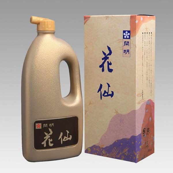 【開明】 花仙 1L(1000ml) 最高級古墨調墨汁 ...