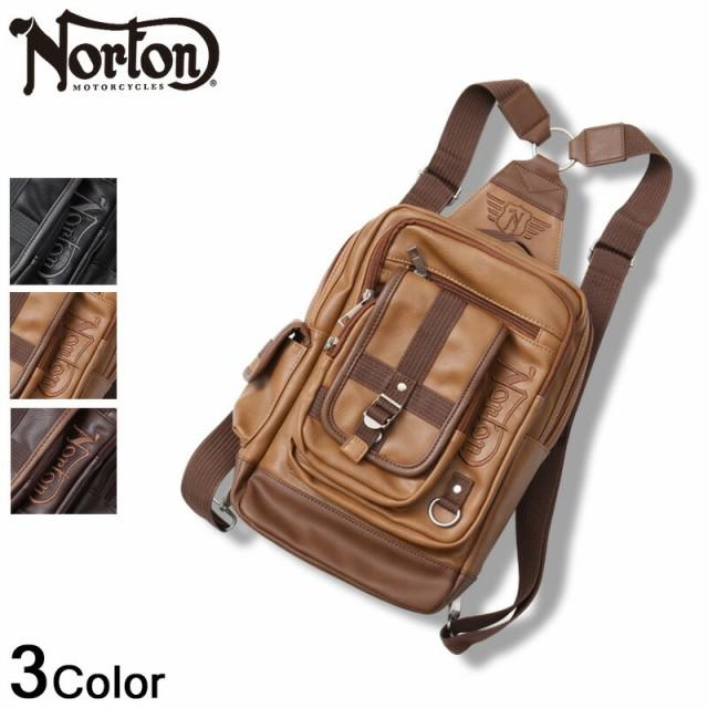 [Norton] PU ビッグ ボディ バッグ 183n8501