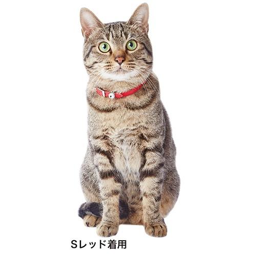 【メール便対応可】日本生産の本革猫首輪 アドメ...