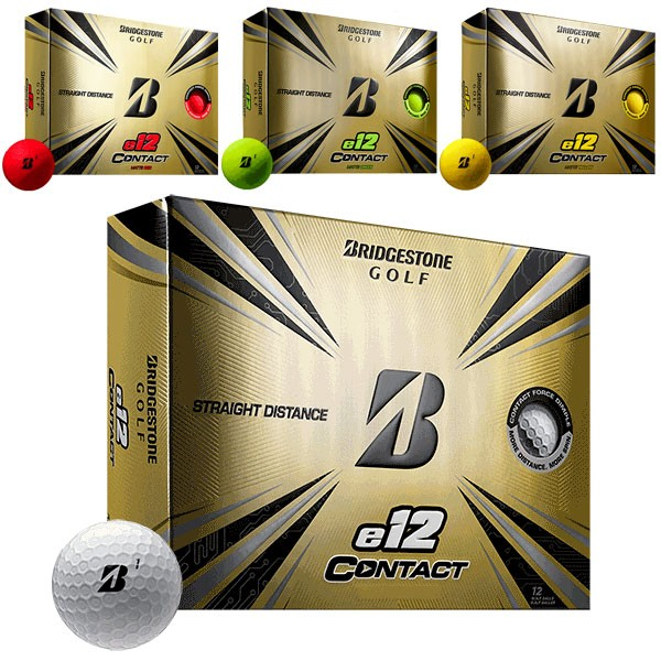 ブリヂストン e12 CONTACT コンタクト ゴルフボー...