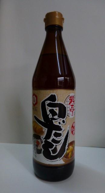 七福醸造 料亭白だし [[  600ML  ]] 瓶入り