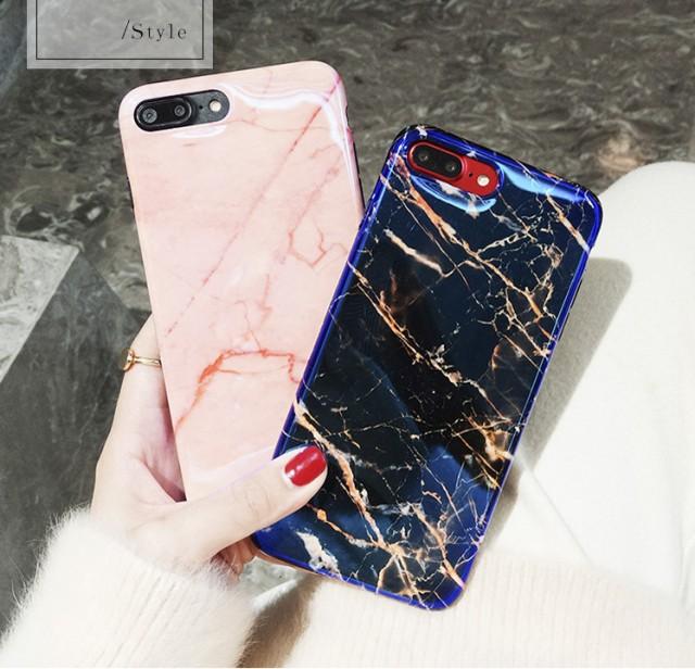 スマホカバーiPhone8/iPhone8Plus/iPhone7/iPhone7 Plus/iPhone6/iPhone6 Plus/ケース大理石柄スマホケース