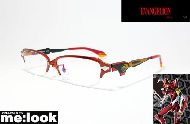 「エヴァンゲリオン」EVA2号機 限定 眼鏡 メガ...