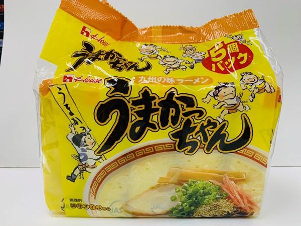 ハウス食品 うまかっちゃん 5食入 即席麺 袋ラー...