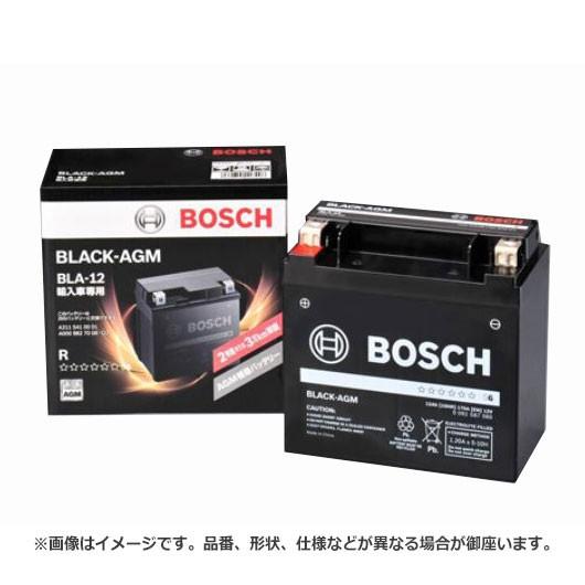 ボッシュ BLACK - AGM バッテリー BLA-12補機 |  ...