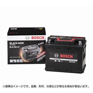 ボッシュ BLACK - AGM バッテリー BLA-60-L2 |  ...