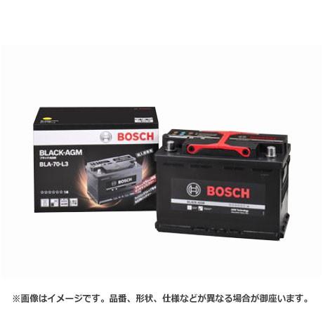ボッシュ BLACK - AGM バッテリー BLA-70-L3 |  ...