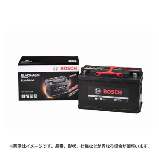 ボッシュ BLACK - AGM バッテリー BLA-80-L4 |  ...
