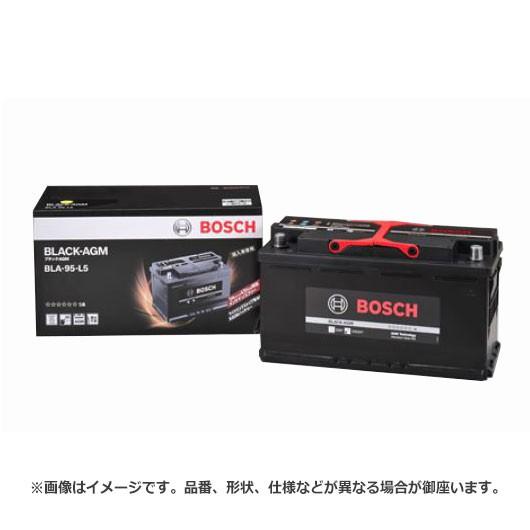ボッシュ BLACK - AGM バッテリー BLA-95-L5 |  ...