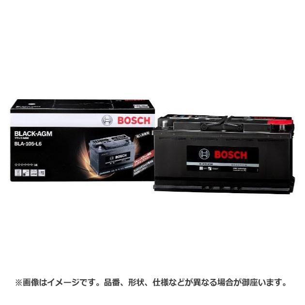 ボッシュ BLACK - AGM バッテリー BLA-105-L6 |  ...
