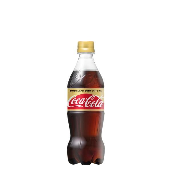 コカ・コーラゼロカフェイン 500ml PET 入数 24本...
