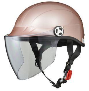 リード工業 SVD ハーフヘルメット ピンクメタリッ...