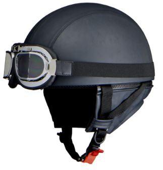 リード工業 BARTON WB-33 レザーハーフヘルメット...