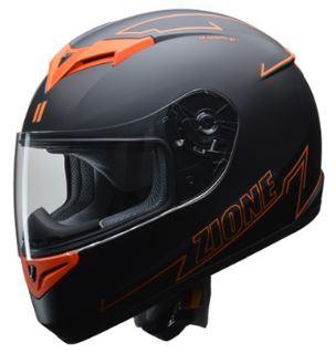リード工業 ZIONE フルフェイスヘルメット オレン...