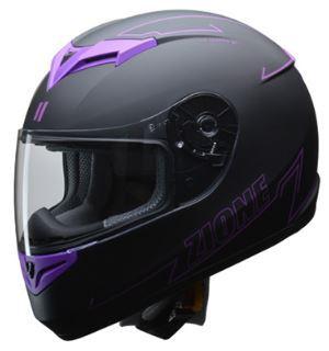 リード工業 ZIONE フルフェイスヘルメット パープ...
