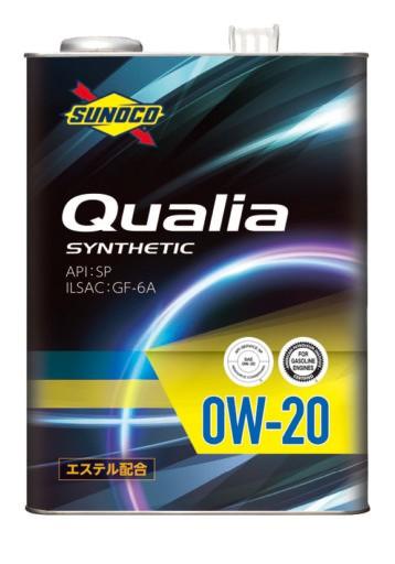 SUNOCO スノコ エンジンオイル Qualia クオリア 0...