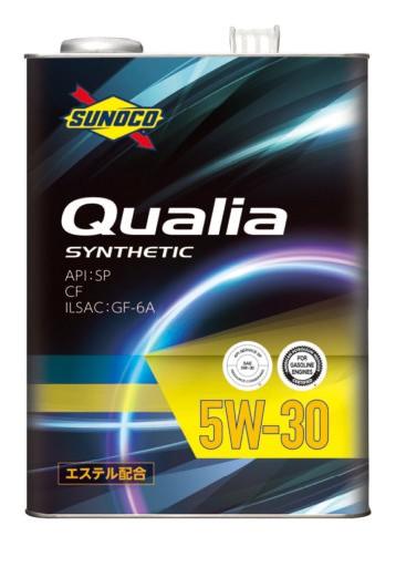 SUNOCO スノコ エンジンオイル Qualia クオリア 5...