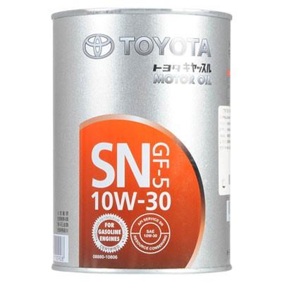 トヨタ エンジンオイル SN / CF 10W-30 1L 缶 088...