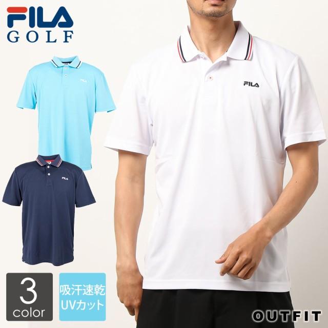 FILA GOLF フィラゴルフ ポロシャツ メンズ 半袖 ...