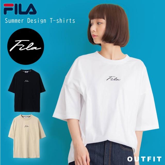 【WEB限定】FILA デザインロゴTシャツ レディース...