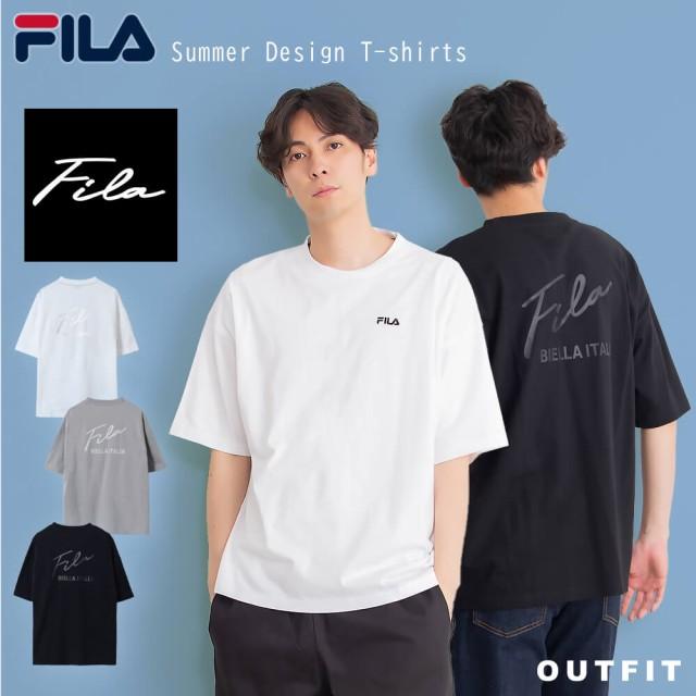 【WEB限定】FILA デザインロゴTシャツ メンズ レ...