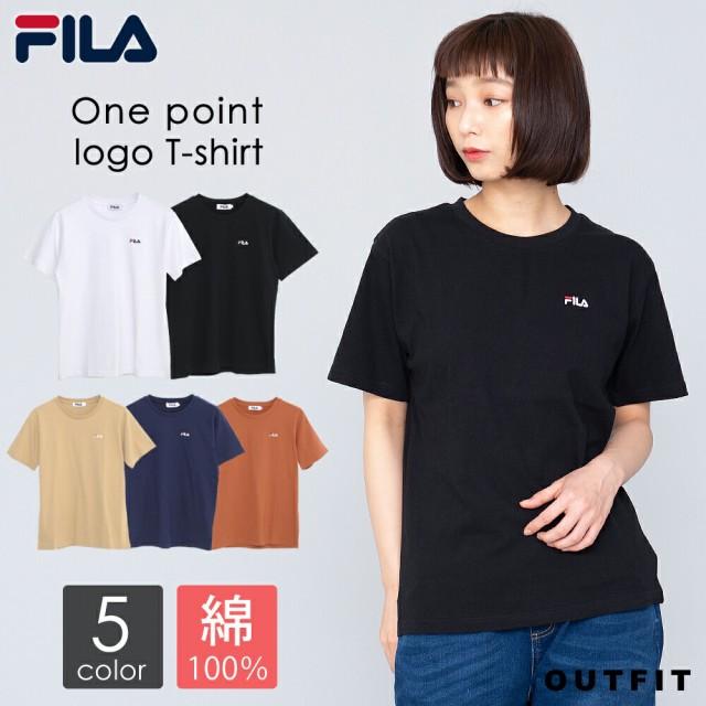 FILA フィラ Tシャツ レディース 半袖 綿100% ワ...