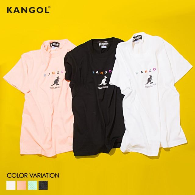 KANGOLカラフルロゴ半袖Tシャツ カンゴール KANGO...